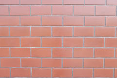 Röd sten för vägg Royaltyfri Foto