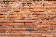 Röd sten för vägg Arkivfoto