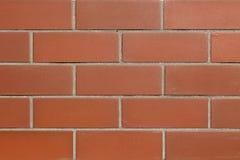 Röd stenstenvägg Royaltyfri Fotografi