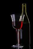 röd still wine för livstid royaltyfri foto