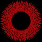 Röd stjärna Arkivbilder