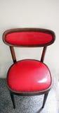 Röd stol arkivfoton