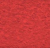 röd stuckaturväggtextur Royaltyfri Bild