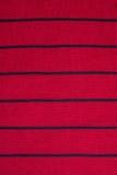 Röd stucken textur Royaltyfri Bild