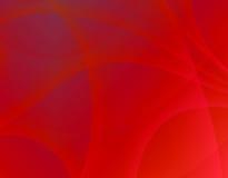 röd swirl Arkivbild