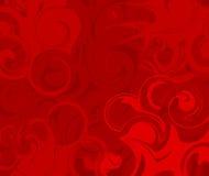 röd swirl för abstrakt bakgrund Royaltyfria Bilder