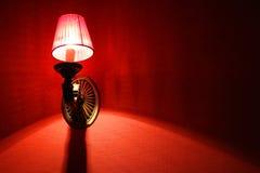 röd tapestry Arkivbilder