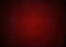 Röd tapet med retro blom- textur, grungebakgrund Arkivbild