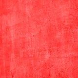 Röd tappningcementvägg royaltyfria foton
