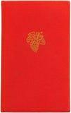 röd tappningxxl för bok Fotografering för Bildbyråer