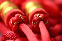 röd tassel Arkivbilder
