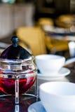 röd tea Fotografering för Bildbyråer