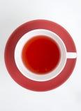 röd tea arkivfoto