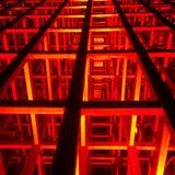 Röd teater Arkivbild
