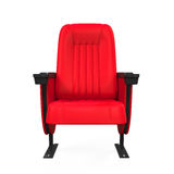 Röd teater Seat Royaltyfria Foton