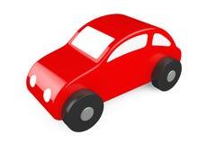 Röd tecknad film Toy Car Royaltyfri Fotografi