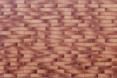 Röd tegelstenvägg Arkivbild