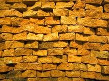 Röd tegelstenvägg Royaltyfria Bilder