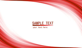 Röd tekniskt avancerad abstrakt bakgrund Arkivfoton