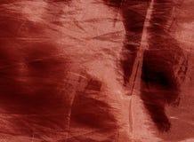röd textiltextur Fotografering för Bildbyråer
