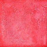 Röd textur för abstrakt vattenfärg som isoleras på vit bakgrund Arkivbild