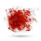 Röd textur för Grunge stock illustrationer