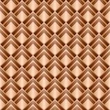 Röd textur. Sömlös bakgrund för vektor Royaltyfri Bild