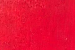 Röd texturbakgrund för betongvägg Fotografering för Bildbyråer