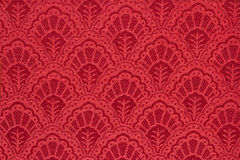 Röd texturbakgrund för tappning Royaltyfria Foton