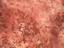 röd texturvägg Arkivfoto