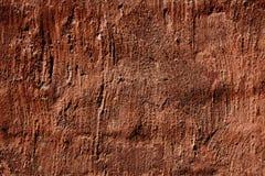 röd texturvägg för grunge Arkivfoto