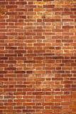 röd texturvägg för tegelsten Royaltyfria Foton