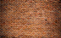 röd texturvägg för tegelstenar Royaltyfri Foto