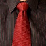 röd tie fotografering för bildbyråer