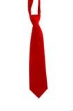 röd tie för hals royaltyfri fotografi