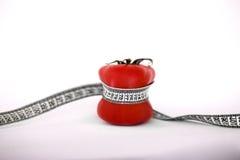 Röd tomat med meater Fotografering för Bildbyråer