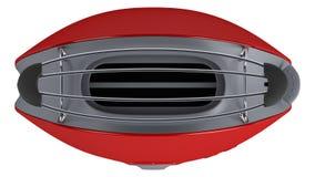 röd toster Arkivfoto