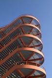 röd trappa arkivfoton