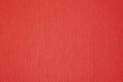 Röd tygtextur Royaltyfri Fotografi