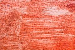 röd ungefärlig textur Arkivfoto