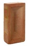 röd upright för tegelsten Royaltyfri Fotografi