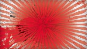 Röd utstrålning Royaltyfri Foto
