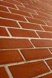 röd vägg Arkivbild