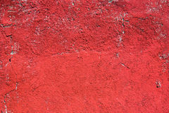 röd vägg Royaltyfri Fotografi