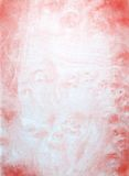 röd väggwhite för abstrakt målning Royaltyfri Foto