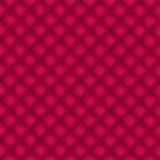 Röd vadderad bakgrund Royaltyfria Bilder