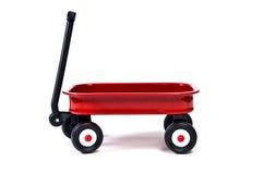 Röd vagn Arkivfoton
