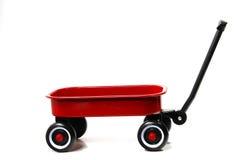 röd vagn Arkivbild