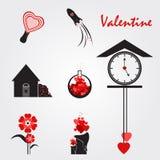 röd valentin Royaltyfri Bild
