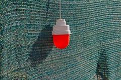Röd varningslampa Arkivfoton